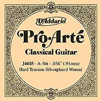 CUERDA SUELTA GUITARRA CLASICA - Dエaddario (J/4605) Pro/Arte Fuerte (Minimo 5 Cuerdas) 5ェ