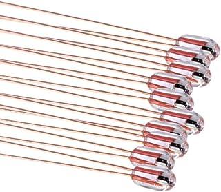XIANYUNDIAN 12Pcs100K ohm NTC 3950 Thermistors for 3D Printer Parts Reprap Mend Temperature Sensor Resistors 3D Printer Ac...