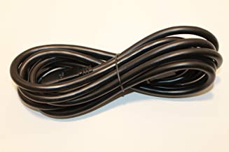 Lew All Fitness Solutions Replacement 12 ft Power Cord - Replacement Power Cord for Elliptical Trainers - Power Cord for Spirit, Sole, Fuel, Esprit, and Xterra Ellipticals - Check Description for Comp