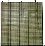 Blinky - Persiana enrollable para puerta de bambú 9691515