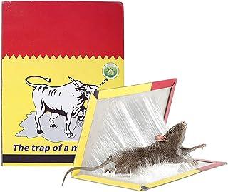 Lovesole ネズミとり粘着シート 強力 粘着ねずみとりシート ネズミ 駆除 (折りたたんだサイズ:22*17cm)