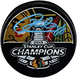 Patrick Kane Chicago Blackhawks Autographed 2013 Stanley Cup Champions Logo Hockey Puck - Autographed NHL Pucks