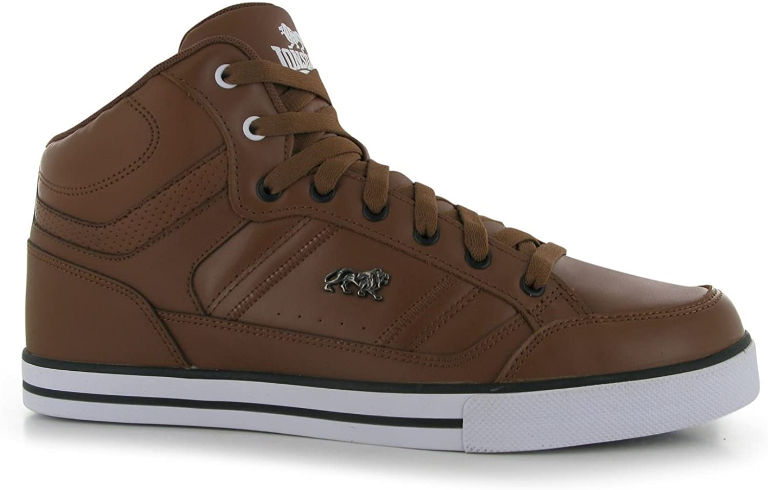 Lonsdale Canons Trainers Mens Tan White Casual Sneakers shoes Footwear