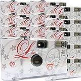 15x Photo Porst boda Cámara/cámara desechable/Party Cámara (por 27 fotos, con flash, 15 unidades)