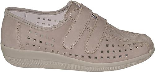 Chaussures Franken Femmes Femmes Chaussures Velcro 7410-1 gris  meilleure offre