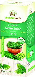 Neem Juice Organic, 1000ml, 34 oz, Ancient Veda