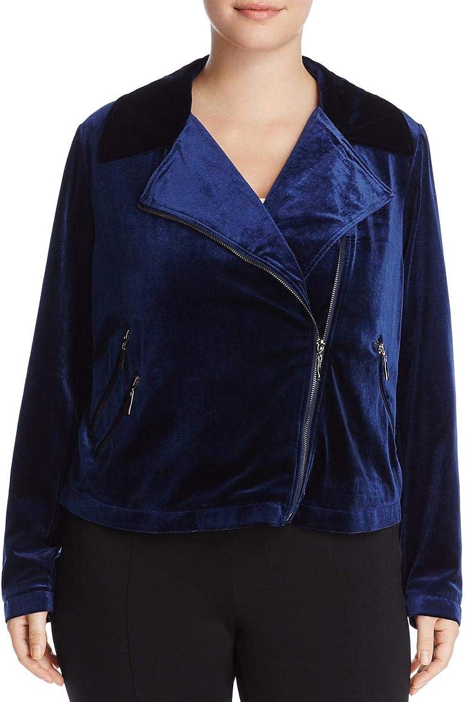 Bagatelle Womens Plus Velvet Long Sleeves Motorcycle Jacket