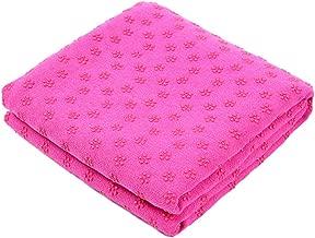 DAN&LAN Quick Dry Non-Slip Yoga Mat Towel for Hot Yoga & Pilates 72'' x 24.8''