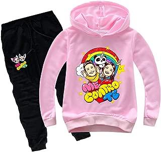 Paisdola Neonate//Ragazzo Manica Lunga Fiori Felpa con Cappuccio Top e Pantaloni Outfit con Tasca a Marsupio