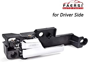 FAERSI Inside Interior Door Handle Front Driver Side for 2006 2007 2008 2009 2010 2011 2012 Ford Fusion, 07-12 Lincoln MKZ & 06 Zephyr, 06-11 Mercury Milan Replaces OE# 6E5Z-5422601-A, 6E5Z5422601A