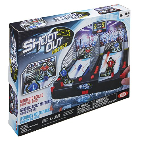 Ideal Motorized ShootOut Hockey Kids Tabletop Game