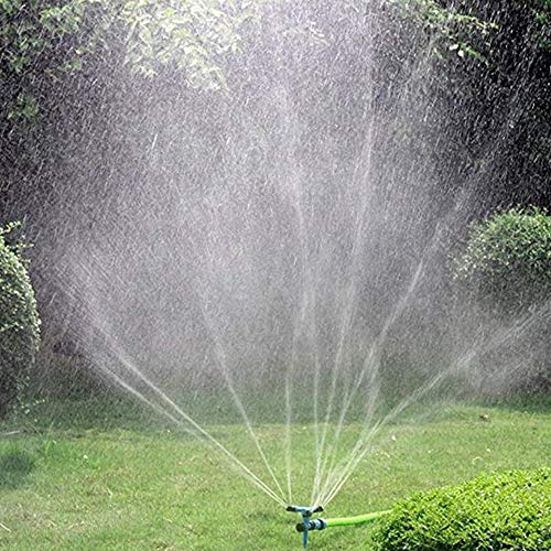 Kadaon Garden Sprinkler, 360 Degree Rotating Lawn Sprinkler with Up to 3,000 Sq. Ft Coverage -...