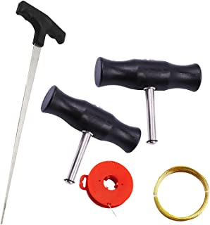 Zestaw narzędzi do usuwania przedniej szyby Narzędzie do usuwania szyb narzędzia do usuwania szyb z drutem stalowym do dom...