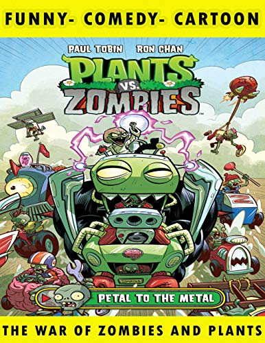 Plants War: vs Zombies - Vol 5 - Great Cartoon - Game Comic Graphic Novels For Young & Teens , Adults Reader