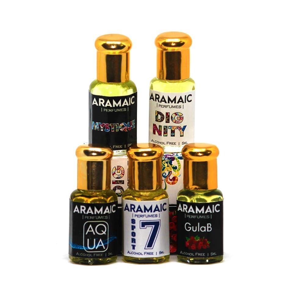 チキン仮定、想定。推測油プレミアムアター| 5パック| SPORT | AQUA | GULAB | 尊厳| MYSTIQUE | 5 ML | アルコールフリー|アターITRA最高品質の香水はアターを持続長いスプレー