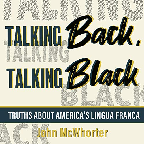 Talking Back, Talking Black cover art