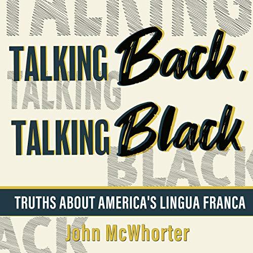 Talking Back, Talking Black Titelbild