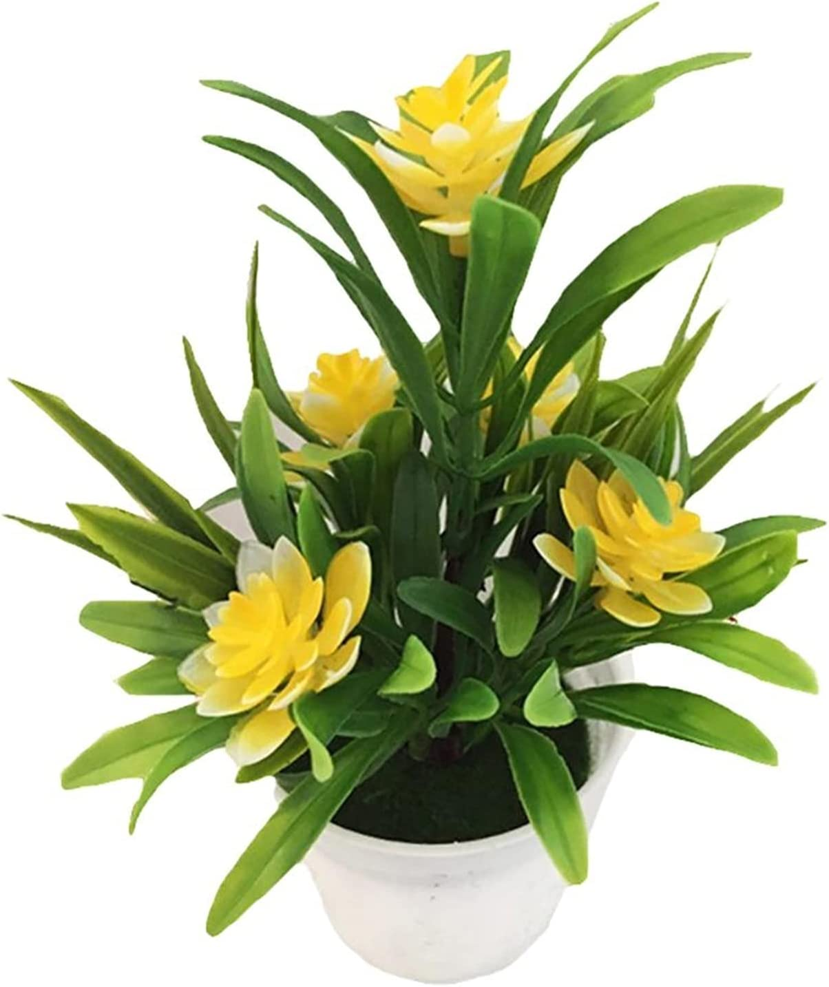 MFLJU Artificial Max 44% OFF Flowers Faux 1PC Plants in P Low price