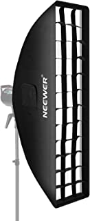 Neewer 20x90 centímetros Honeycomb Grid Softbox con Monte Bowens Speedring para Speedlite Estudio Flash Monolight, Retrato y Fotografía de Producto