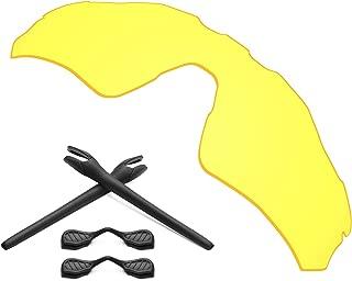 Replacement Lenses & Earsocks Rubber Kits for Oakley Radar EV Path Sunglasses