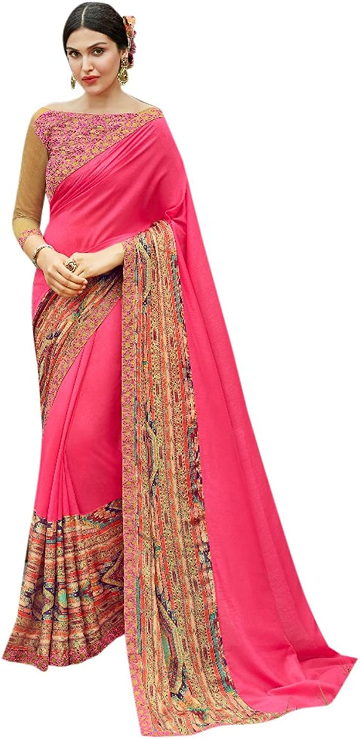 Designer Bollywood Formal Wear Saree Sari for Women Latest Indian Ethnic Wedding Collection Blouse Party Wear Festive Ceremony 2620 12