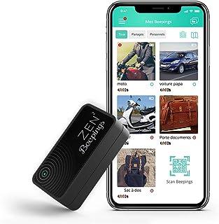 Tracker GPS ZEN2 by Beepings con fijación magnética, Alerta antirrobo y Detector de Movimientos para Coches, Motos y Scooters. ¡Suscripción y Servicios incluidos!