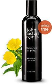 John Masters Organics - Shampoo for Dry Hair with Evening Primrose Good for Thinning, Color Treated Hair - Moisturizer Infused with Essential Oils, Proteins, Amino Acids - Sulfate Free - 8 oz