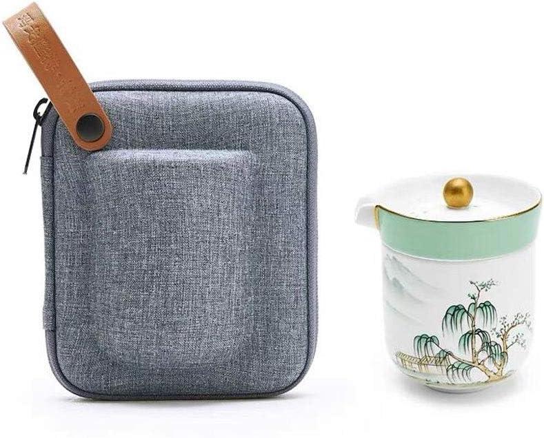 Import Product GUOCAO Teapot Portable Travel Tea Set China Express Cup Hom Bone