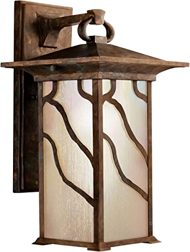Kichler 9031DCO Morris Outdoor Wall 1-Light, Distressed Copper