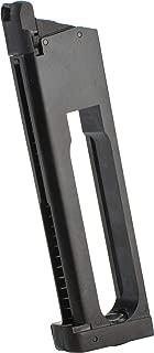 Evike KJW/ASG 24rd Co2 Magazine for ASG STI Tac Master 1911 Series Airsoft GBB Pistols - Black