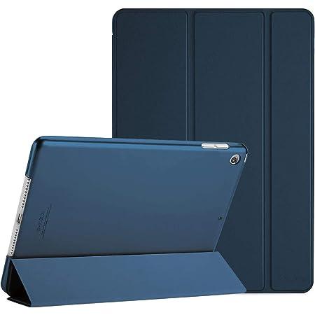 "ProCase iPad 10.2"" 8/7 ケース スマートカバー 超スリム 三つ折りスタンド フォリオ保護ケース 半透明バックカバー 対応機種: iPad 10.2"" 第8世代 2020/ 第7世代 2019 - ネービー"
