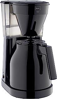 Melitta Easy II Therm 1023-06, kaffebryggare med isolerad kanna, svart