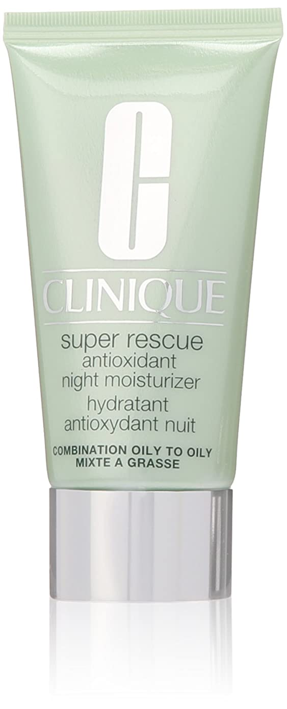 可塑性最もヒットSuper Rescue Antioxidant Night Moisturizer - Normal to Oily Skin