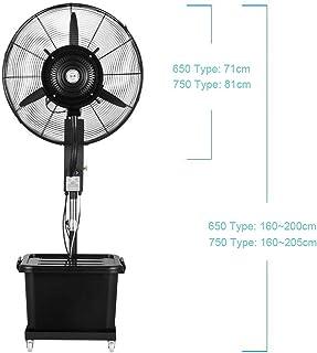 Jyfsa Ventilador de la fábrica con Tanque de Agua Ventilador Industrial de vibración Vertical Ventilador de Aire frío Ventilador de nebulización