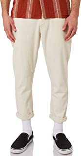 Rhythm Men's The Mens Beach Pant Cotton Fitted Natural