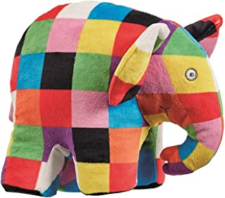 Elmer Elephant Soft ToyStuffed Plush Toy,24 x 10 x 17cm