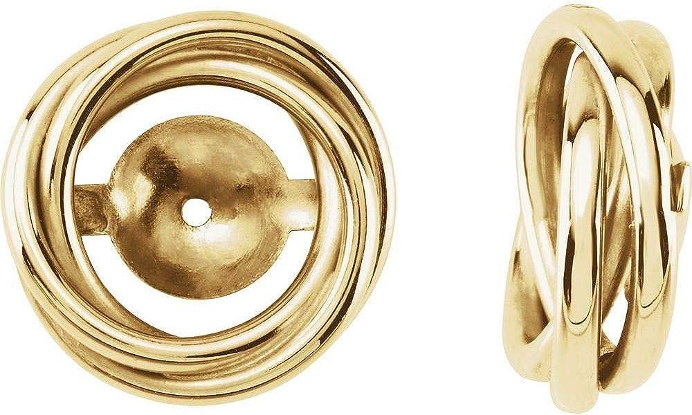 6.7mm ID Earring Jackets