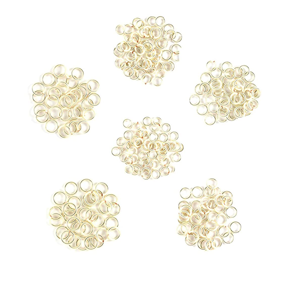 Silver - Enameled Copper Jump Rings – 14 Gauge – 5.0mm to 7.5 mm ID - 120 Rings kglawumt55891