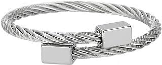 MAOCEN Men Women Bracelets Luxury Royal Crown Charm Jewelry Bracelets Gold/Silver