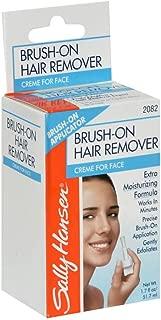 Sally Hansen Brush-On Hair Remover Creme for Face 1.7 oz (Pack of 9)