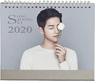 Fanstown Song Joong-ki 2020 Collective Edition Desk Calendar with lomo Card#1