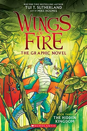 The Hidden Kingdom Wings of Fire Graphic Novel 3 A Graphix Book Wings of Fire Graphix product image