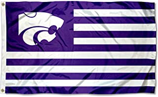 College Flags & Banners Co. Kansas State Wildcats Stars and Stripes Nation Flag