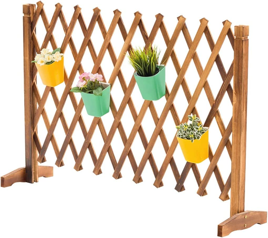 Grid Wall Mounted Gorgeous Plant Stand Flower Indoor St Overseas parallel import regular item Wooden Creativity