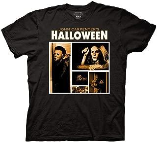 Ripple Junction Halloween Adult Unisex Screen Blocks Light Weight 100% Cotton Crew T-Shirt
