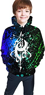 Soft Phoenix_Aphmau-Aaron Sweatshirts Hoodies for Kids Girls Boys Hoody Hooded with Pockets Tops