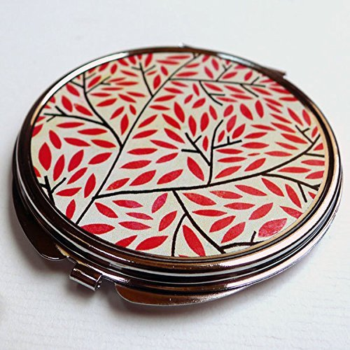 Miroir de poche, Les feuilles rouges