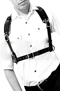 Best leather chest harness fashion Reviews