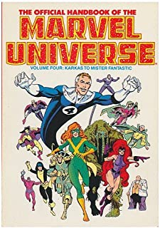 The Official Handbook of the Marvel Universe, Volume Four: Karkas to Mister Fantastic / Presented by Stan Lee
