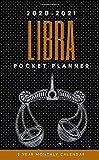 LIBRA: 2020-2021 POCKET PLANNER (2 Year Monthly Calendar): Jan 1, 2020 to Dec 31, 2021: Pocket Plann...
